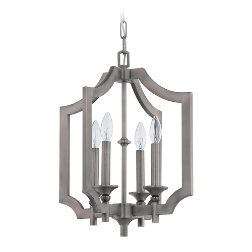 Craftmade Lighting Craftmade Lisbon Antique Nickel Pendant Light 37334-AN