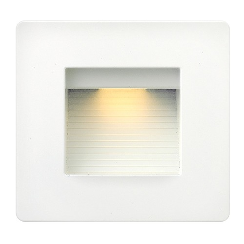 Hinkley Lighting Hinkley Lighting Luna Satin White LED Recessed Step Light 58506SW