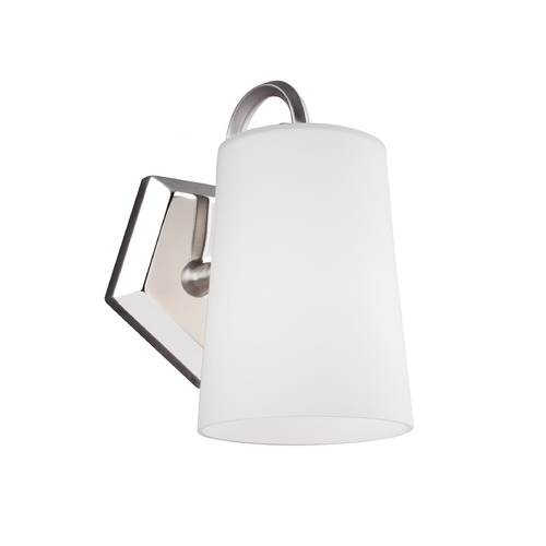 Feiss Lighting Feiss Lighting Pentagram Satin Nickel / Polished Nickel Sconce VS20401SN/PN