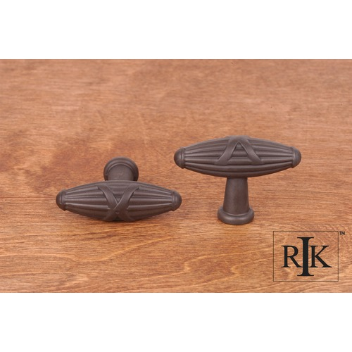 RK International Large Crossed Indian Drum Knob CK756RB