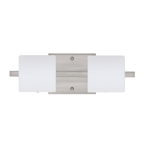 Besa Lighting Besa Lighting Paolo Satin Nickel LED Bathroom Light 2WS-787307-LED-SN
