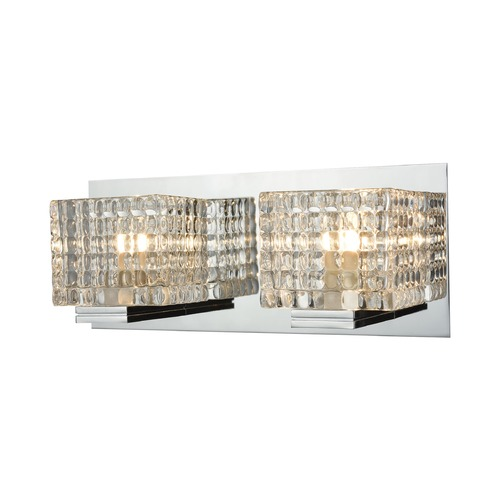 Alico Industries Lighting Alico Lighting Chastain Chrome Bathroom Light BV2312-0-15