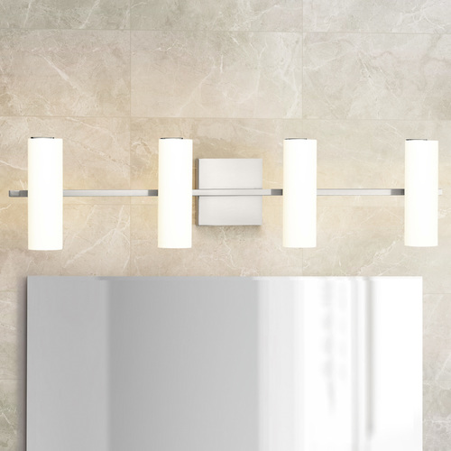 Progress Lighting Progress Lighting Colonnade LED Brushed Nickel LED Bathroom Light 3000K 507LM P300188-009-30