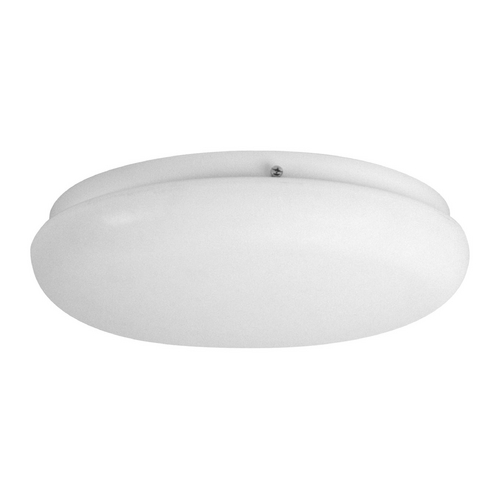Progress Lighting Progress Flushmount Light with White in White Finish P3637-30WB