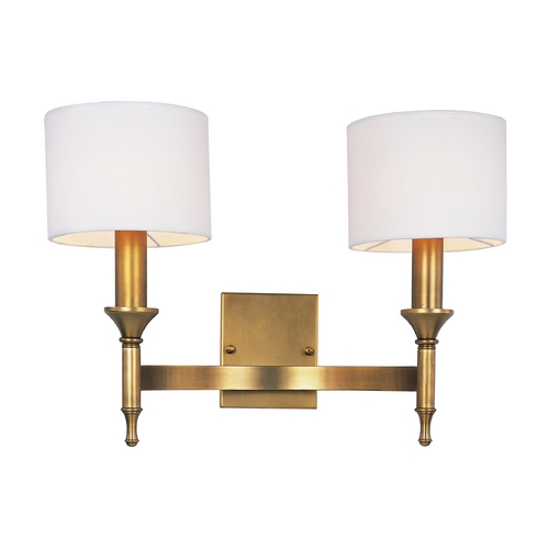 Maxim Lighting Maxim Lighting Fairmont Natural Aged Brass Sconce 22379OMNAB
