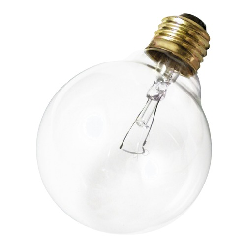 Satco Lighting Incandescent G25 Light Bulb Medium Base 120V by Satco S3447