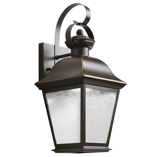 Kichler Lighting Kichler Lighting Mount Vernon Olde Bronze LED Outdoor Wall Light 9708OZLED
