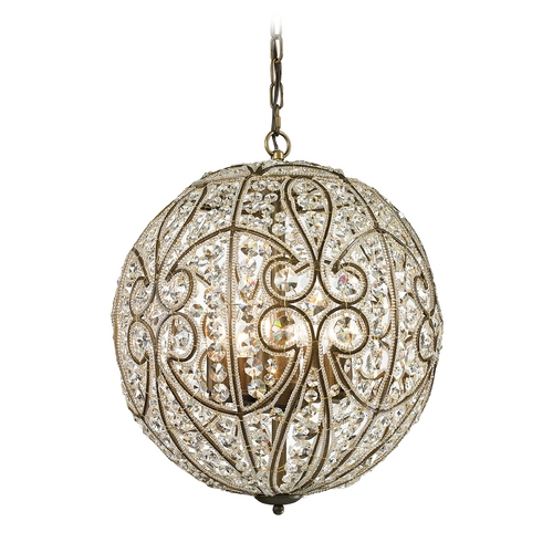 Elk Lighting Pendant Light in Dark Bronze Finish 15975/8