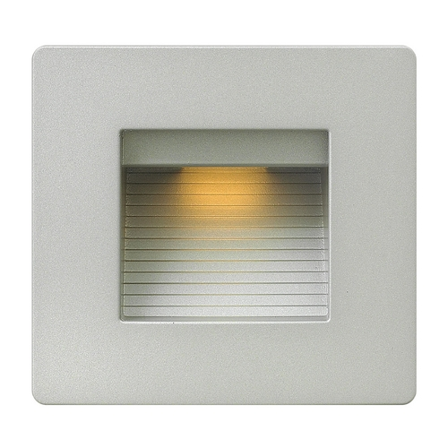 Hinkley Lighting Hinkley Lighting Luna Titanium LED Recessed Step Light 58506TT