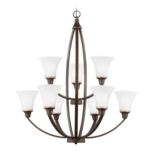 Sea Gull Lighting Sea Gull Lighting Metcalf Autumn Bronze Chandelier 3113209-715