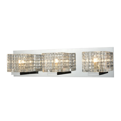 Alico Industries Lighting Alico Lighting Chastain Chrome Bathroom Light BV2313-0-15