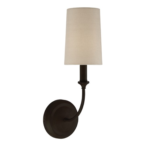Crystorama Lighting Crystorama Lighting Sylvan Dark Bronze Sconce 2241-DB