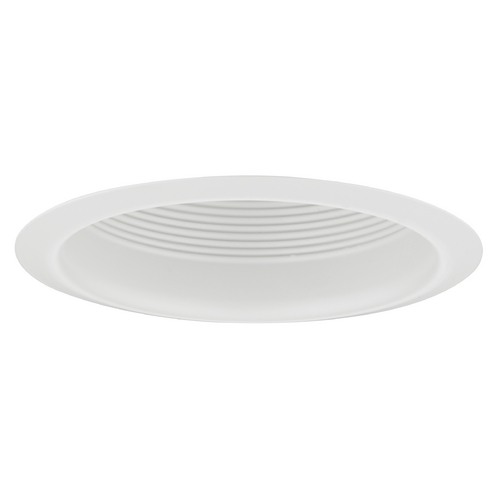 Recesso Lighting by Dolan Designs Air Tight White Baffle Cone Trim for 5-Inch Recessed Housings T513W-WH