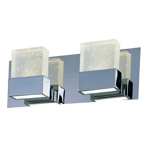 ET2 Lighting Fizz Iii Polished Chrome LED Bathroom Light E22752-89PC