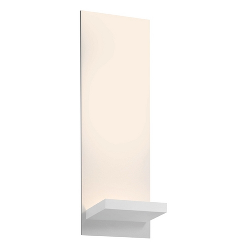 Sonneman Lighting Sonneman Lighting Panel Textured White LED Sconce 2373.98