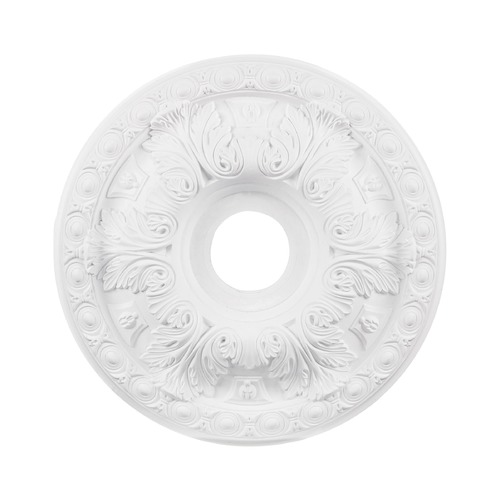 Elk Lighting Elk Lighting Pennington White Ceiling Medallion M1018WH