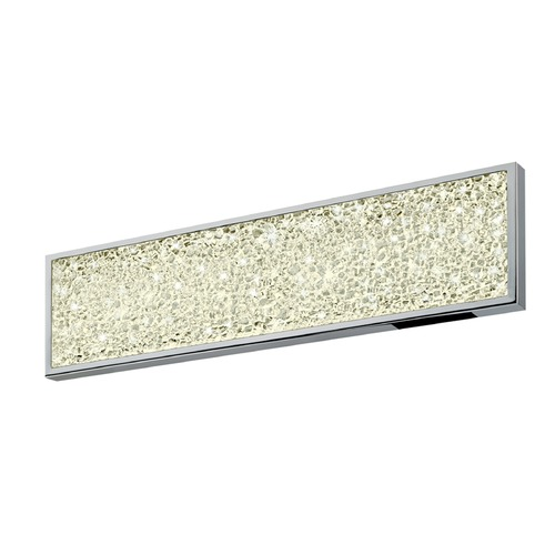 Sonneman Lighting Sonneman Dazzle Polished Chrome ADA LED Bathroom Light   2560.01