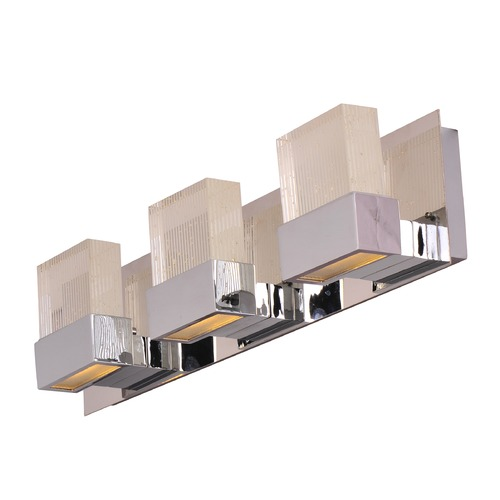 ET2 Lighting Fizz Iii Polished Chrome LED Bathroom Light E22753-89PC
