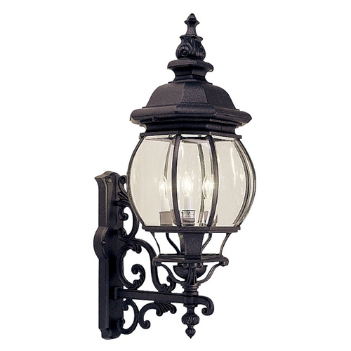 Livex Lighting Livex Lighting Frontenac Black Outdoor Wall Light 7701-04