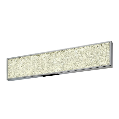 Sonneman Lighting Sonneman Dazzle Polished Chrome ADA LED Bathroom Light 2561.01
