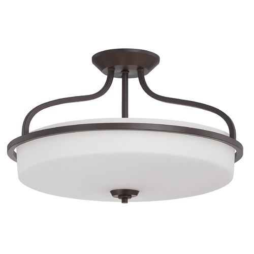 Savoy House Savoy House English Bronze Semi-Flushmount Light 6-6225-4-13