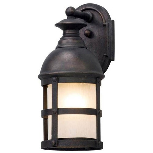 Troy Lighting Troy Lighting Webster Vintage Bronze LED Outdoor Wall Light BL5151