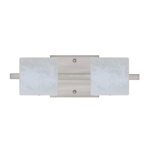 Besa Lighting Besa Lighting Paolo Satin Nickel LED Bathroom Light 2WS-787319-LED-SN