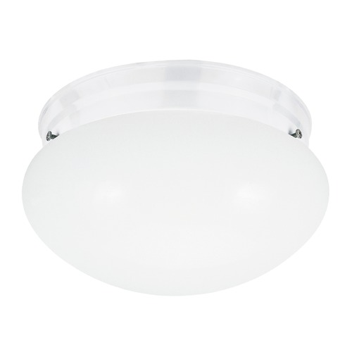 Sea Gull Lighting Sea Gull Lighting Webster White LED Flushmount Light 5326EN3-15