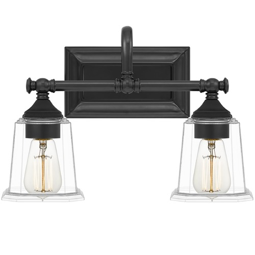 Quoizel Lighting Quoizel Lighting Nicholas Earth Black Bathroom Light NLC8602EK