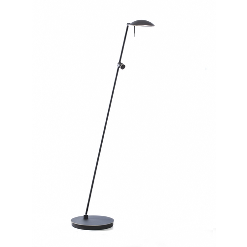 Holtkoetter Lighting Holtkoetter Modern Floor Lamp in Hand-Brushed Old Bronze Finish 6470 HBOB
