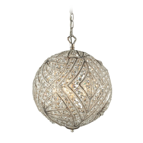Elk Lighting Pendant Light in Sunset Silver Finish 16239/5