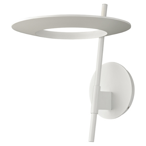 Sonneman Lighting Sonneman Lighting Ringlo Satin White LED Sconce 2416.03