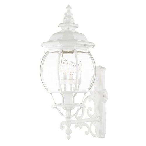 Livex Lighting Livex Lighting Frontenac White Outdoor Wall Light 7701-03