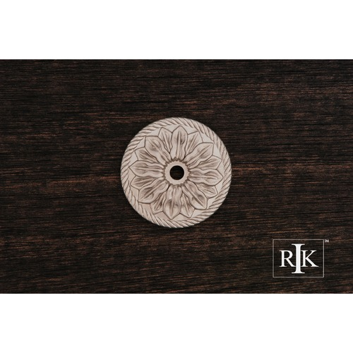 RK International Flower Knob Backplate BP482P