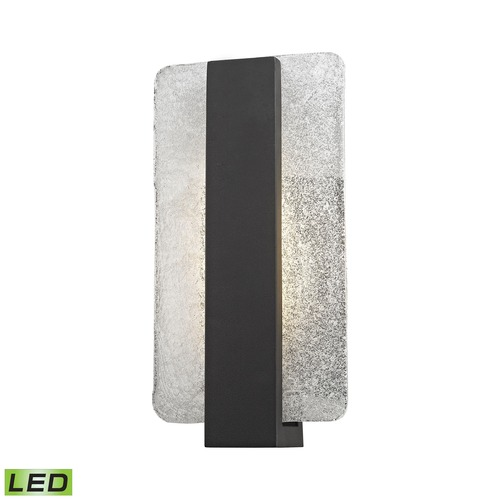 Elk Lighting Elk Lighting Pierre Textured Matte Black LED Outdoor Wall Light 45230/LED