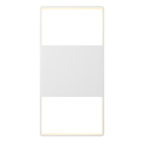 Sonneman Lighting Sonneman Frames Textured White LED Outdoor Wall Light 7202.98-WL