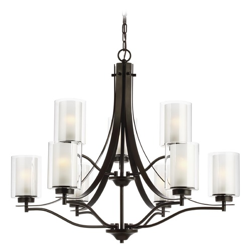 Sea Gull Lighting Sea Gull Lighting Elmwood Park Heirloom Bronze Chandelier 3137309-782