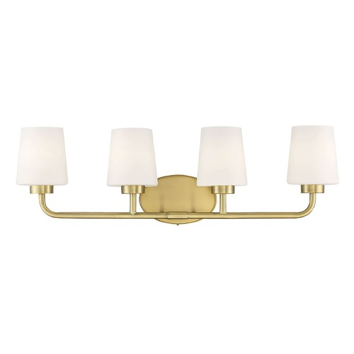 Savoy House Savoy House Lighting Capra Warm Brass Bathroom Light 8-4090-4-322
