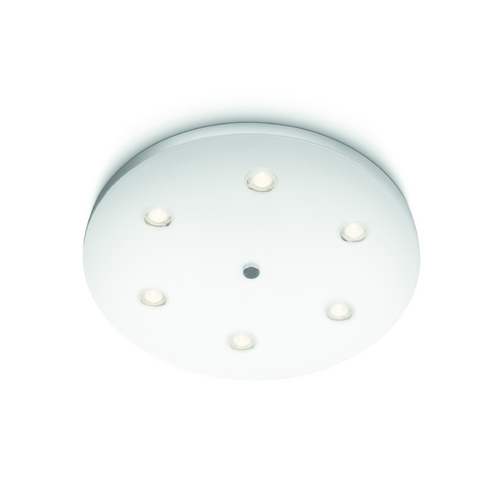Philips Lighting Modern LED Flushmount Light in White Finish 321583148