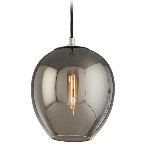 Troy Lighting Troy Lighting Odyssey Carbide Black and Polished Nickel Mini-Pendant Light F4294