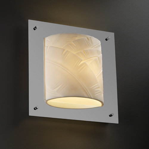 Justice Design Group Justice Design Group Porcelina Collection Sconce PNA-5561-BANL-CROM