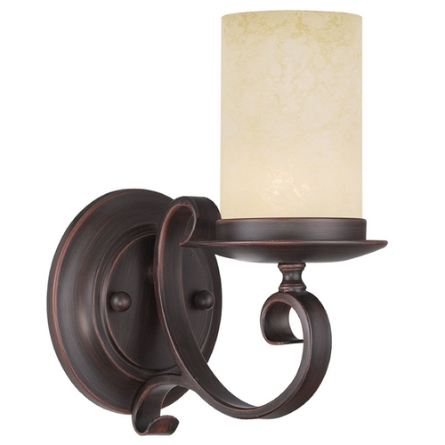 Livex Lighting Livex Lighting Millburn Manor Imperial Bronze Sconce 5481-58