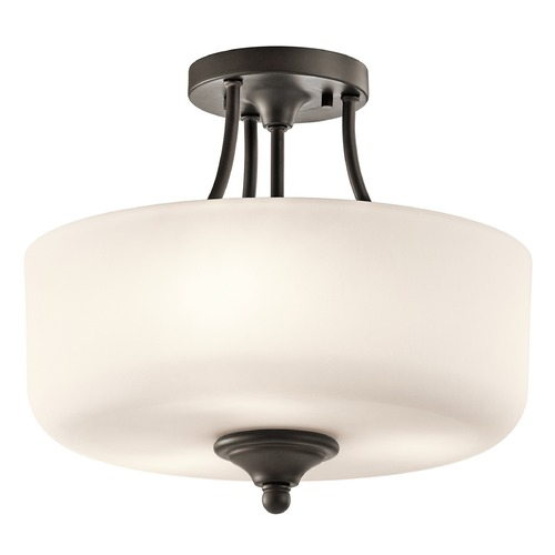 Kichler Lighting Kichler Lighting Lilah Semi-Flushmount Light 43655OZ