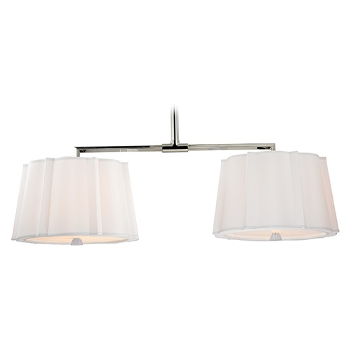 Hudson Valley Lighting Humphrey 4 Light Island Pendant Light - Polished Nickel 4844-PN