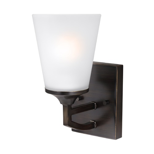 Sea Gull Lighting Sea Gull Hanford Burnt Sienna Sconce 4124501-710