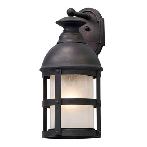 Troy Lighting Troy Lighting Webster Vintage Bronze LED Outdoor Wall Light BL5153