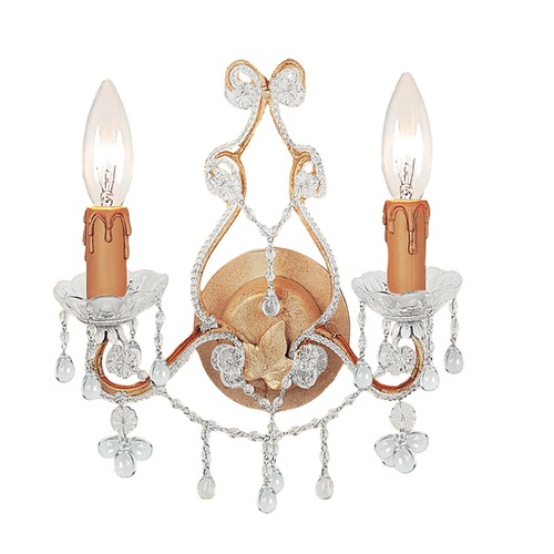Crystorama Lighting Crystorama Lighting Paris Market Champagne Sconce 4522-CM-CLEAR