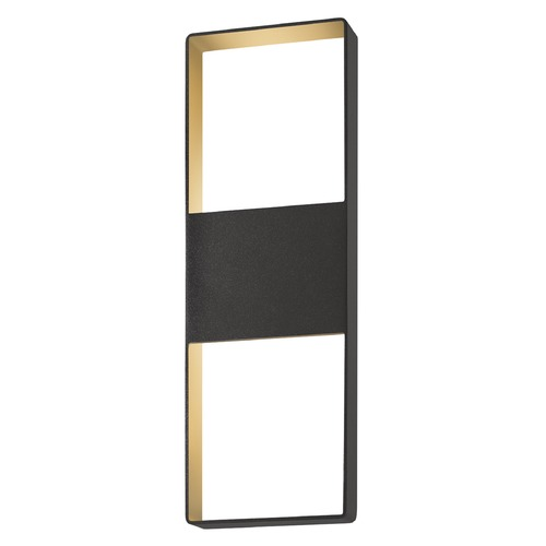 Sonneman Lighting Sonneman Frames Textured Bronze LED Outdoor Wall Light 7204.72-WL