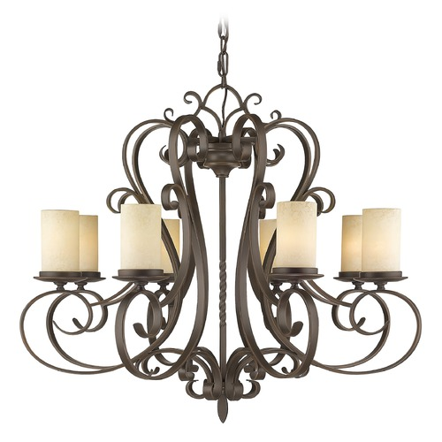 Livex Lighting Livex Lighting Millburn Manor Imperial Bronze Chandelier 5488-58