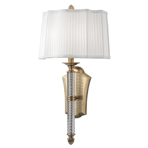 Hudson Valley Lighting St. George 2 Light Sconce - Aged Brass 8411-AGB